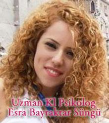 Uzman Klinik Psikolog Esra Bayraktar Süngü